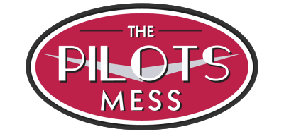 The Pilots Mess Cafe, Function Room Balcony Logo